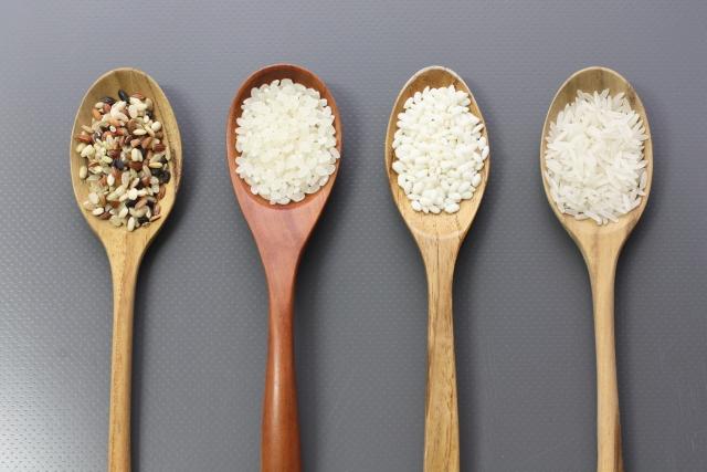 お米には糖質が多い