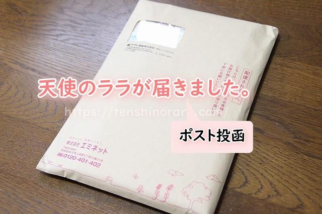 天使のララが封筒で届いた
